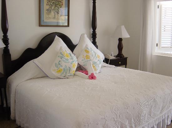 Jamaica Inn: Bed area