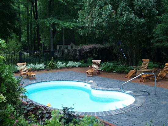 Lit et Cheval Farm Bed & Breakfast : the pool