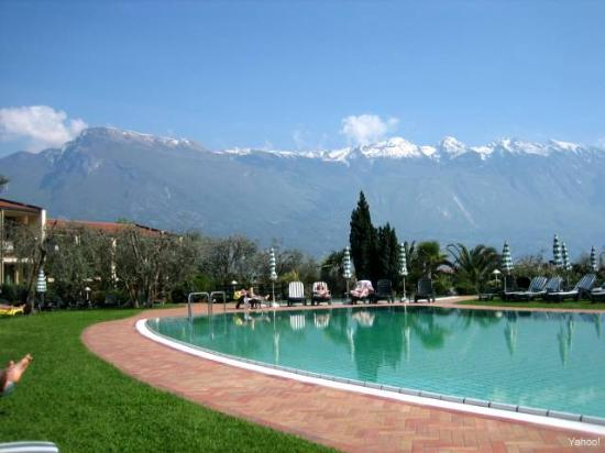 Park Hotel Imperial - Centro Tao: View from the Outdoor Pool - looking over at Lake Garda