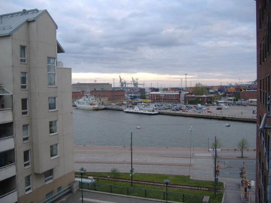 Radisson Blu Seaside Hotel, Helsinki : Outside my hotel window