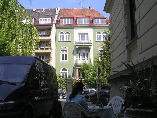 Hotel Uhland: View from doorstep of hotel
