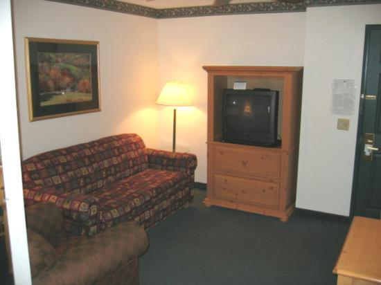 Country Inn & Suites By Carlson, Rock Falls: Livingroom part of the suite