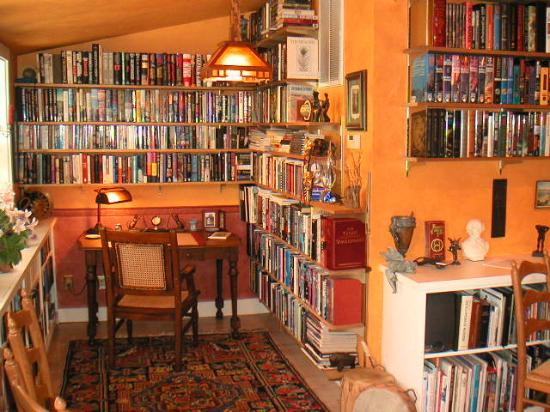 Arden Forest Inn: Part of the library