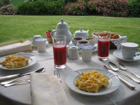 L'Olmo: Privates Frühstück