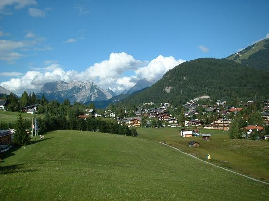 Seefeld in Tirol, Austria: Late Afternoon over Seefeld