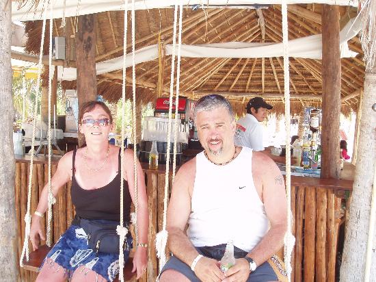 Swinging in cancun