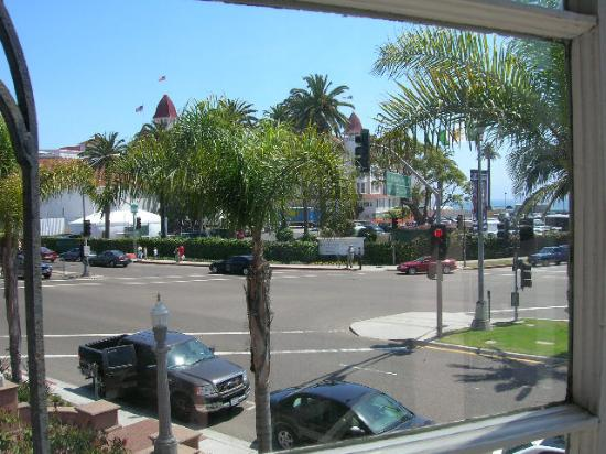 El Cordova Hotel: View out the window