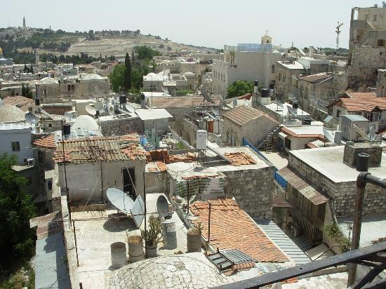 view from the roof picture of petra hotel hostel jerusalem rh tripadvisor com