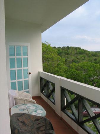 Great Escape: balcony