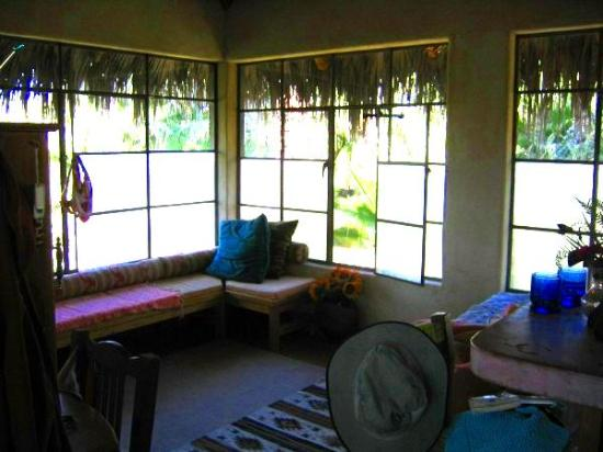 Las Palmas Casitas: Our treehouse casita