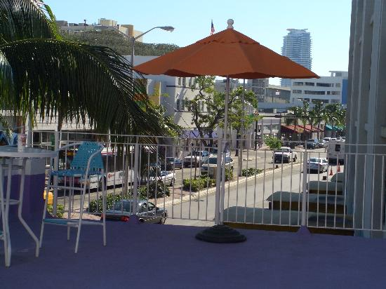 Royal South Beach Hotel: View from the Sun Terrace
