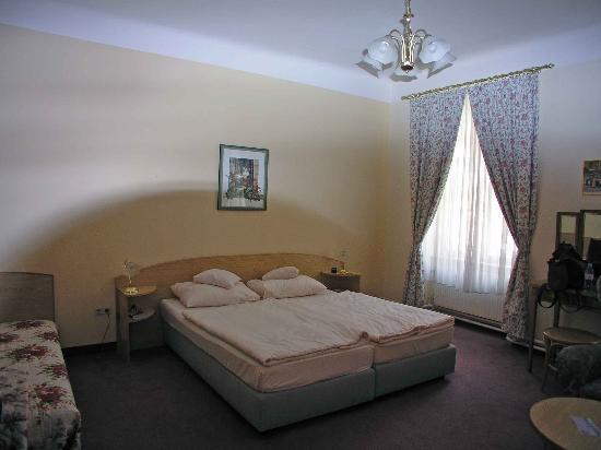 Hotel Graf Stadion : Third floor room ( used )
