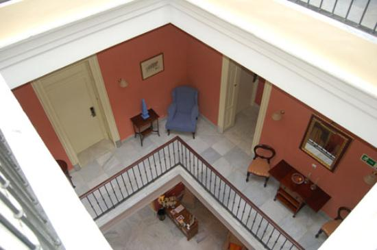 Bellas Artes Hotel: looking down