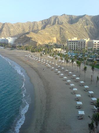 Barr Al Jissah, Oman: view from the room