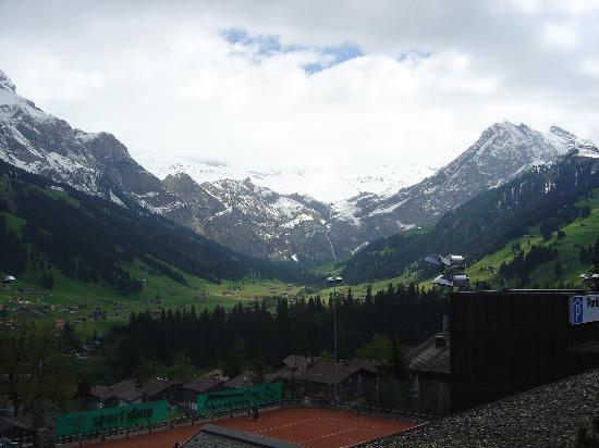 Adler Adelboden: View from the room balcony