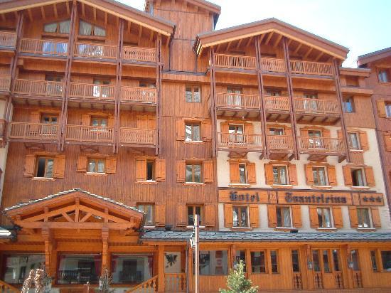 Val d'Isère, Prancis: hotel's facade