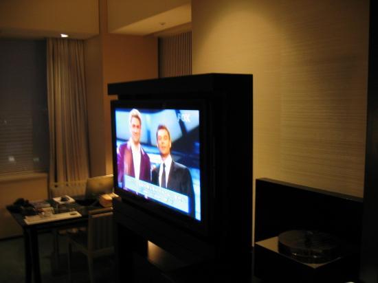 Park Hyatt Tokyo: TV in room (Deluxe King)