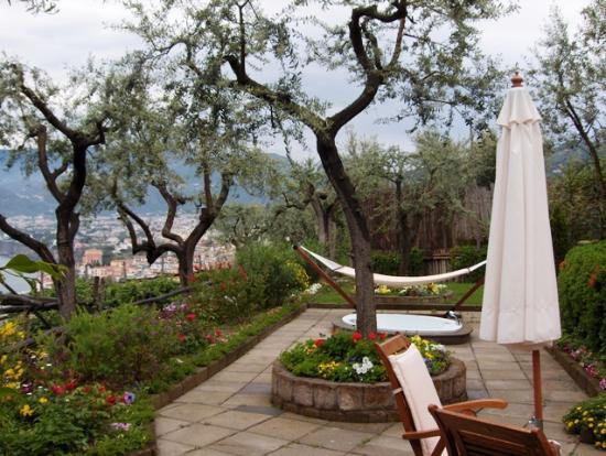 Hotel Bristol: The terrace