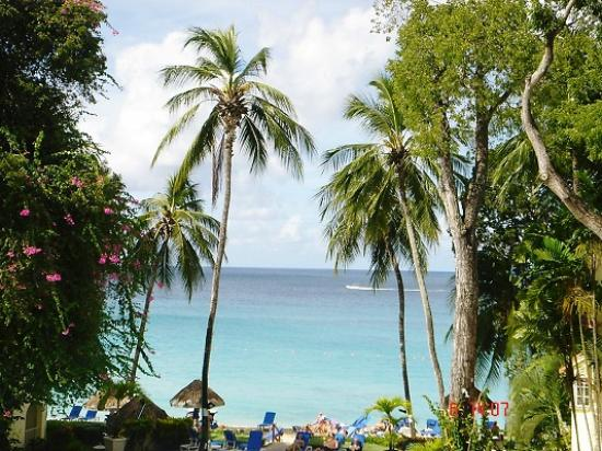 Saint James Parish, Barbados: view from the balcony at Tamarind Cove