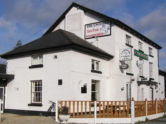 Unicorn B Hotel Caersws Wales United Kingdom