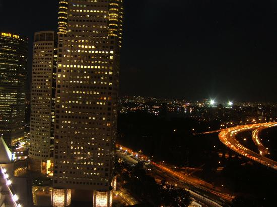 The Ritz-Carlton, Millenia Singapore: Night View from room