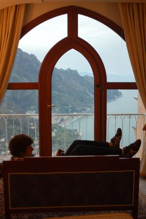 "Palazzo Avino: View from ""Sea View King"" Suite"