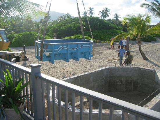 Nisbet Plantation Beach Club: Looks like a great hot tub !!
