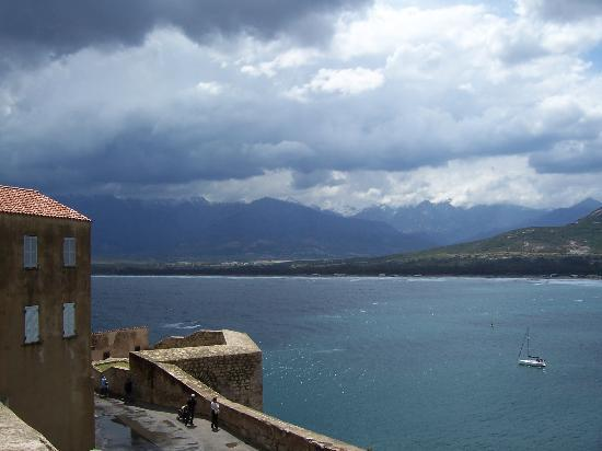 Korsika, Fransa: view from calvi