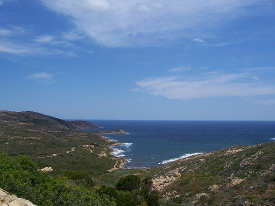 Korsika, Fransa: the sea coast