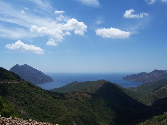 Korsika, Fransa: sea coast