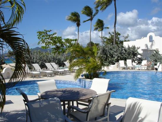 Spice Island Beach Resort: The main pool