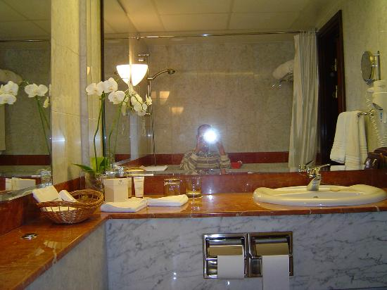 Sofitel Warsaw Victoria: Executive Room ( Second bathroom )