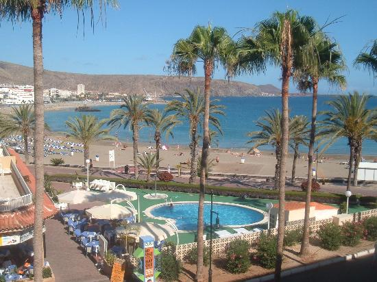 Compostela Beach Golf Club: our view from the balcony