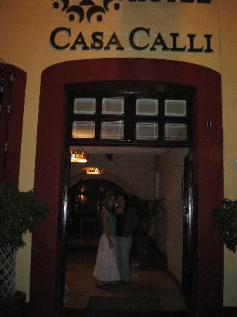 Casa Calli Hotel & SPA: Entrance to Casa Calli