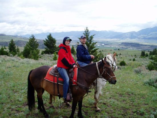 Mountain Sky Guest Ranch: View on Horseback
