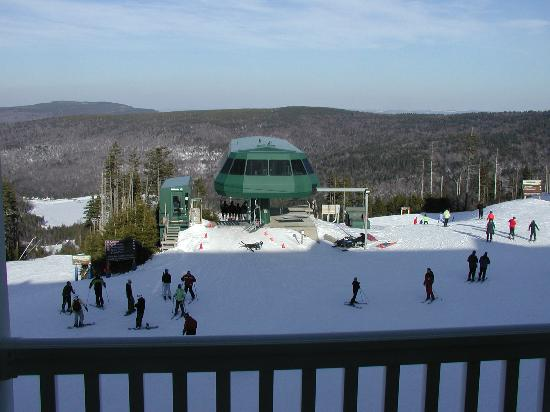 Snowshoe, Virginia Occidental: View from Condo balcony