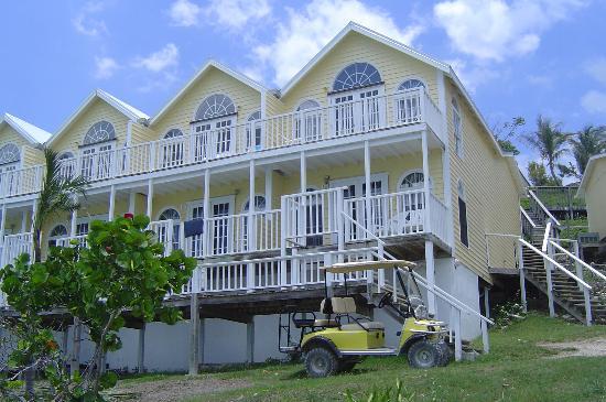 Bluff House Beach Resort & Marina: we had an upper room