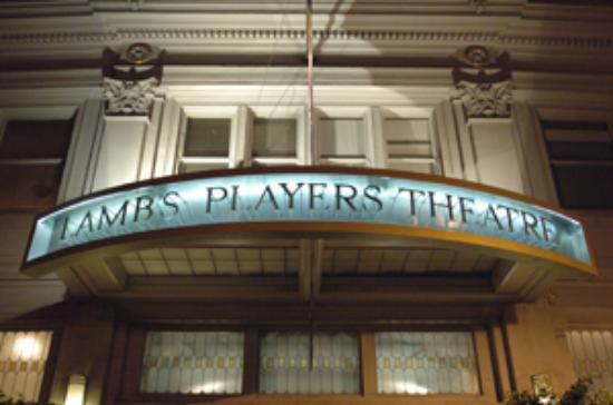 Lamb's Players Theatre : front of the theatre