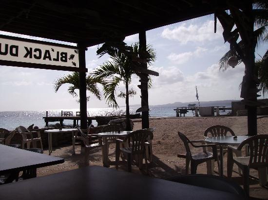 Black Durgon Inn covered breakfast area