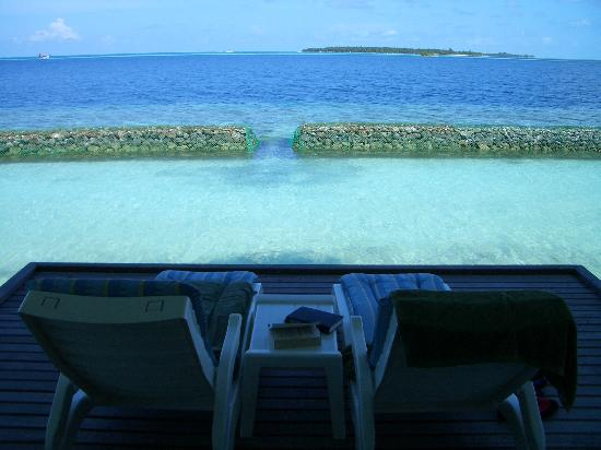 Lily Beach Resort & Spa: View from water bungalow