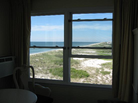Drifting Sands Oceanfront Motel: View from in room