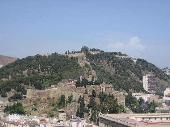 AC Hotel Malaga Palacio: view of Alcazaba from hotel roof