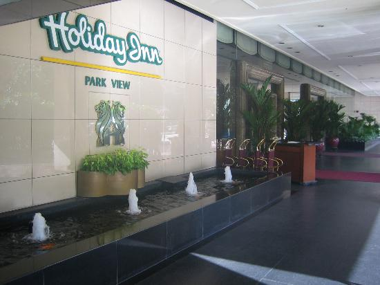 Holiday Inn Singapore Orchard City Centre : Holiday Inn Park View Singapore
