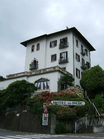 Hotel du Parc sits above much of Stresa.