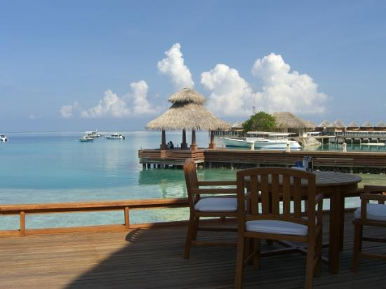 Baros Maldives: From the restaurant