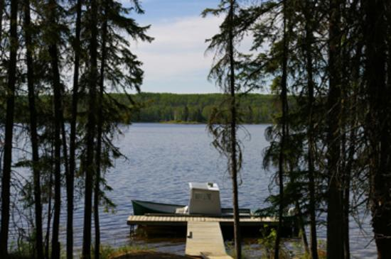 Christopher Lake, Kanada: 22 Ft. Tour Boat for Nature Cruises