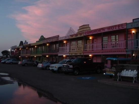 The Big Texan Motel at Sunset