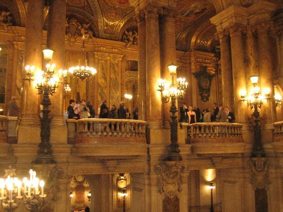 Grand Foyer Opera : Grand foyer at opera garnier picture of paris ile de