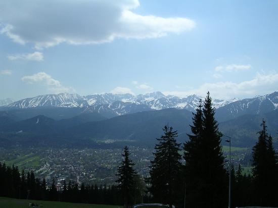 Belvedere Hotel : Gubalowka mountain view of Zakopane and Tatry mountain