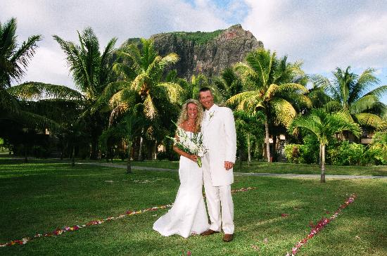 LUX* Le Morne: Our wedding day